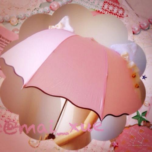 【即日発送】ネコ耳の折りたたみ傘