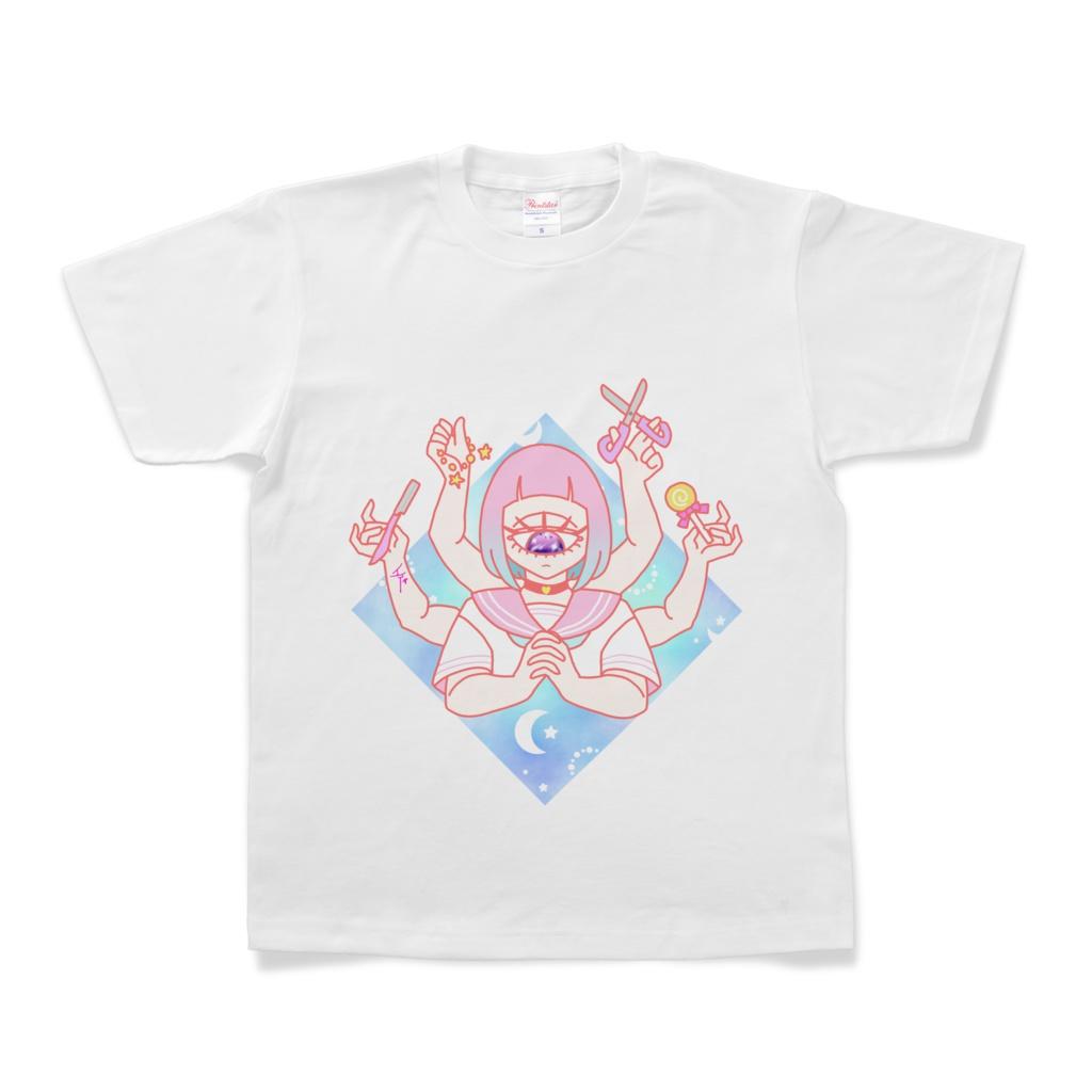 少女観音Tシャツ