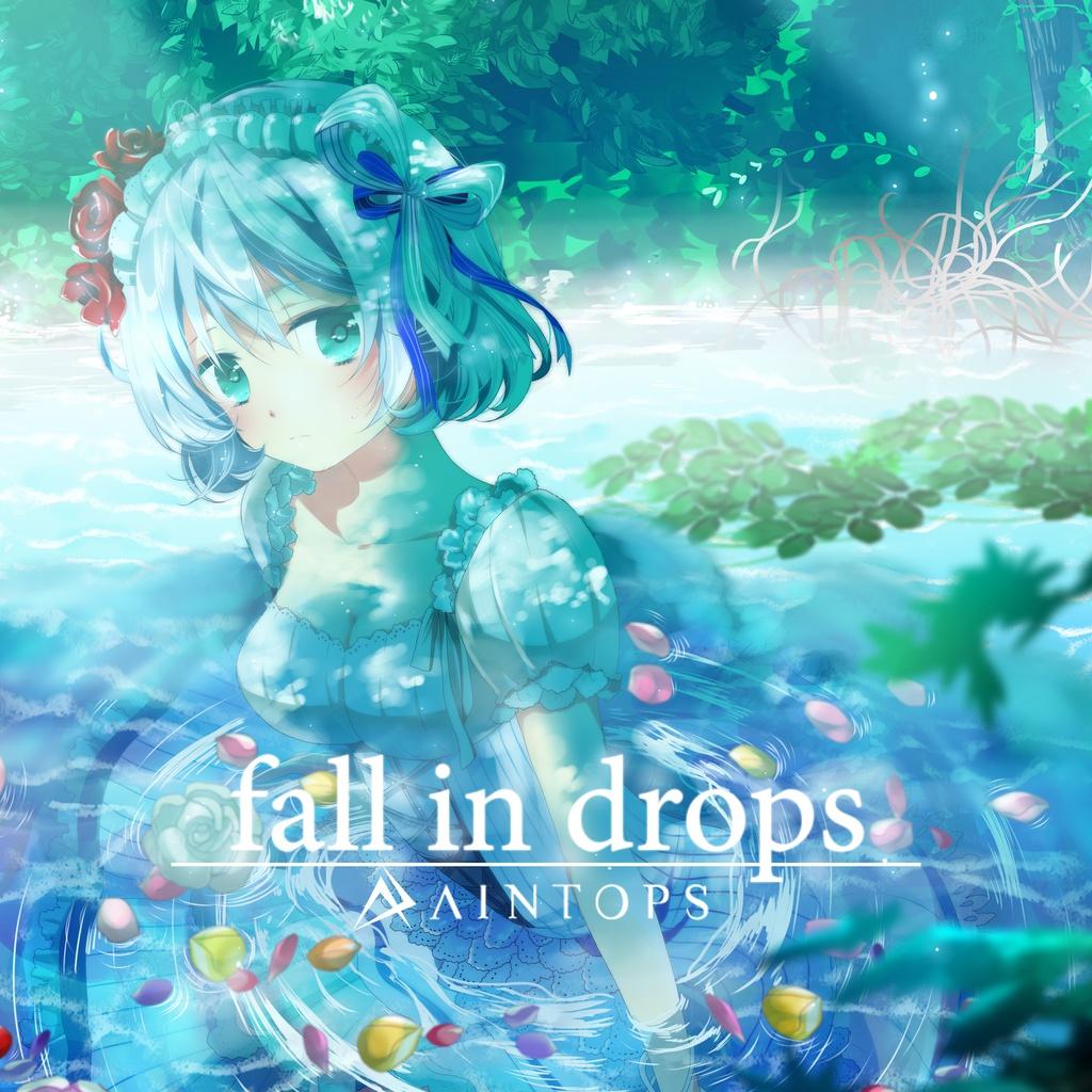 fall in drops