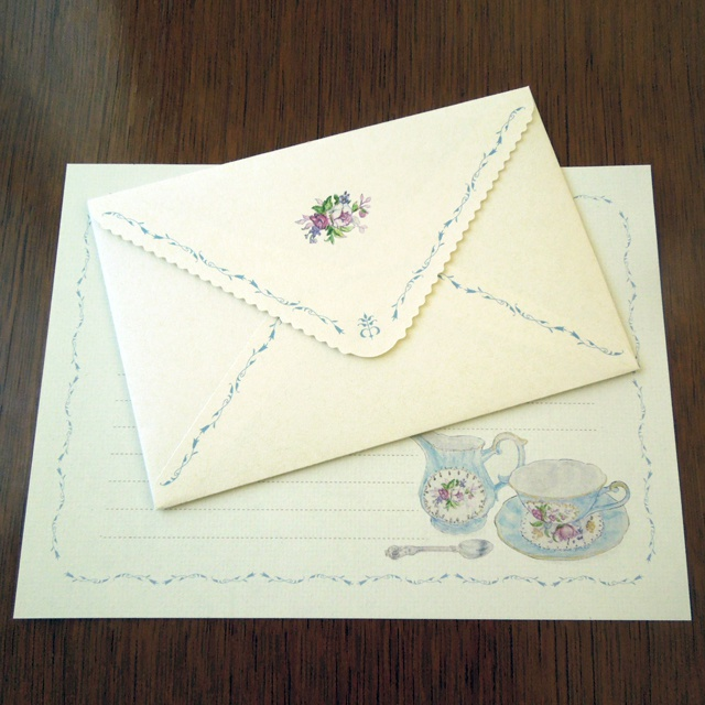 Letter Set Tea time