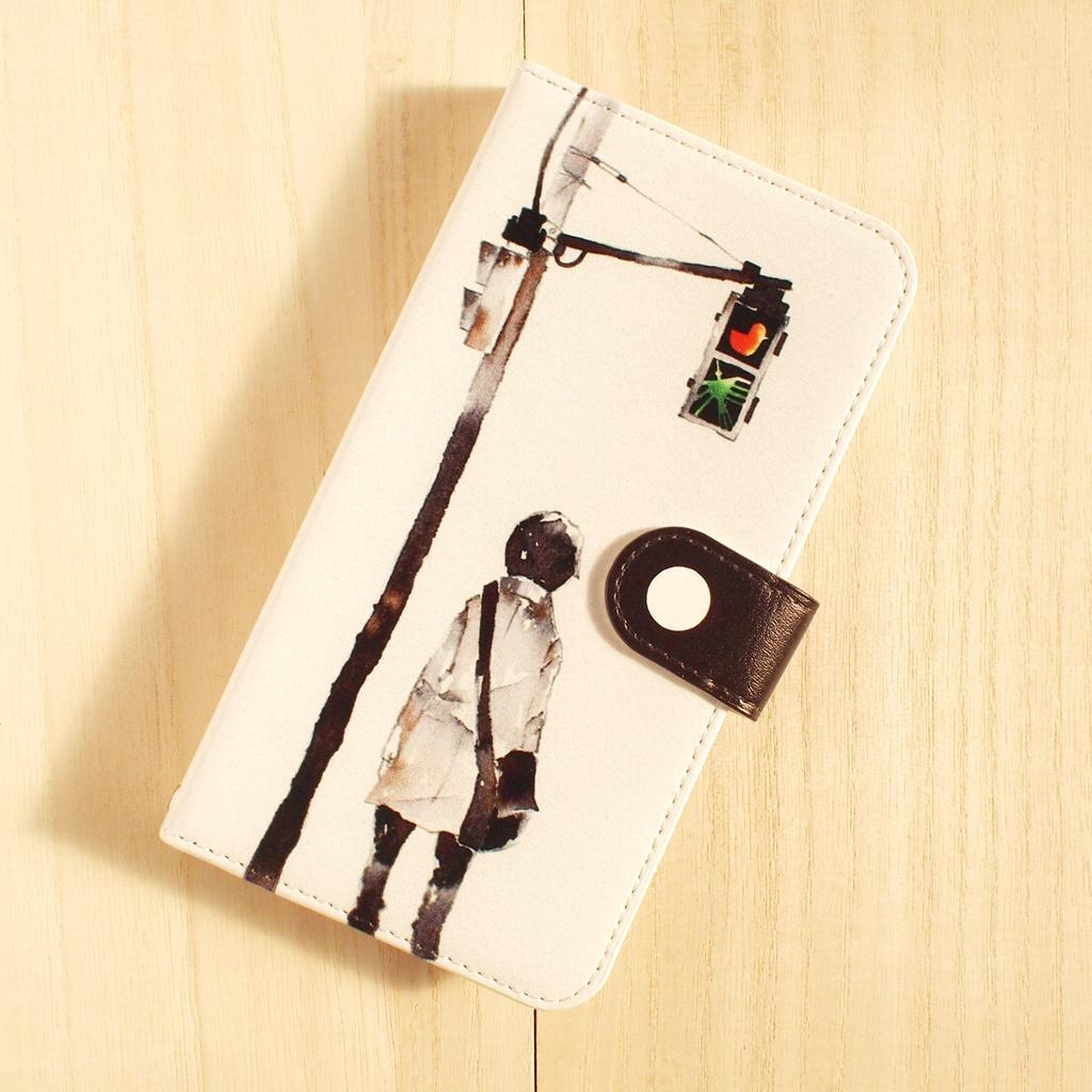 【iPhone6/6s】手帳型ケース/道しるべ