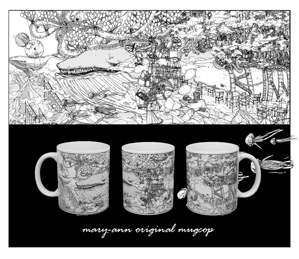 机上の白昼夢・マグカップ