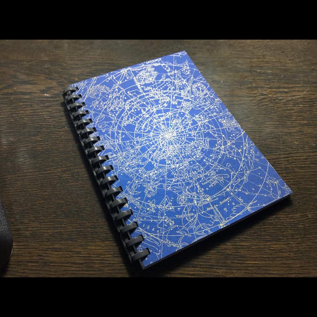 【在庫限り】占星術師のリングメモ・星図【送料込】