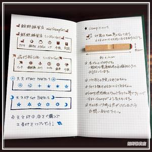 鯨野ゴム印セット [天文印 Set 1・2]