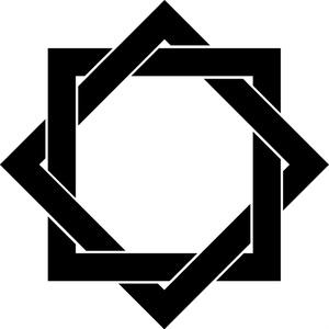 家紋フリー素材 組合枡(組合桝・組合角) EPS、PNG