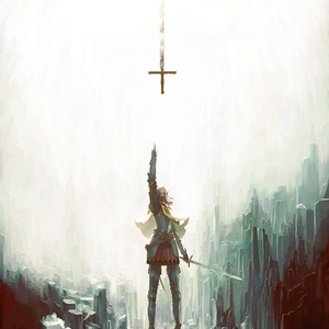【A1ポスター】岩窟の聖騎士
