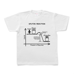 OFUTON REACTION Tシャツ (White)