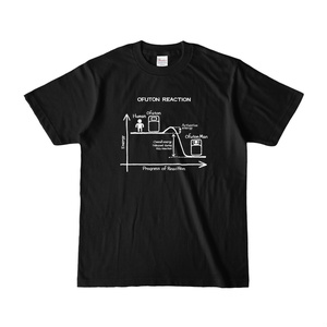 OFUTON REACTION Tシャツ (Black)