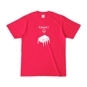 8-pin DIP kawaii T-shirt (Hot Pink)