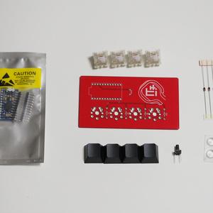 Meishi ― The micro macro keyboard kit