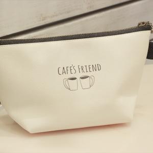 ◇え〜すり/カフェ友とドーナツのポーチ