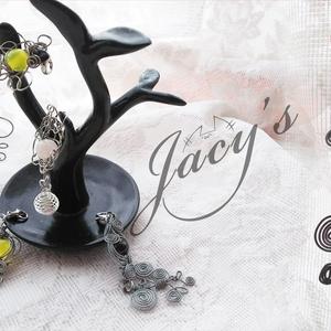 【ストラップ】ガーネット*ラッピングストラップ-rose-【Jacy's】