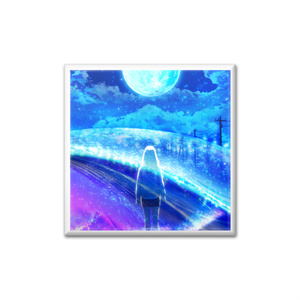 各楽曲ジャケットデザイン 缶バッジ (bluemoon)