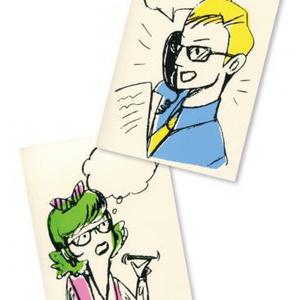 ナンシー&フレッド(ポストカード)