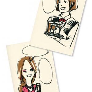 ネル&アレックス(ポストカード)