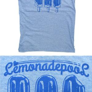 3本アイス柄Tシャツ(グリーン/ブルー/ピンク)