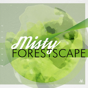 Misty Forestscape