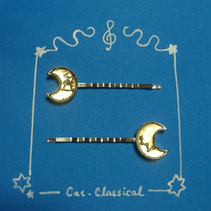 月と星のヘアピン(仄歌エリーモチーフ)