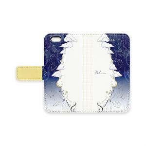 星座モチーフ手帳型iPhoneケース