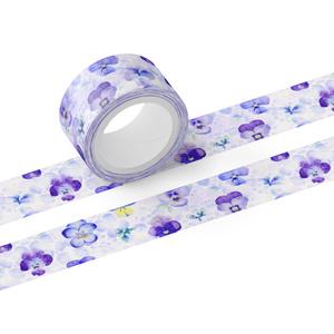 パンジーのマスキングテープ(テープ幅 20mm)
