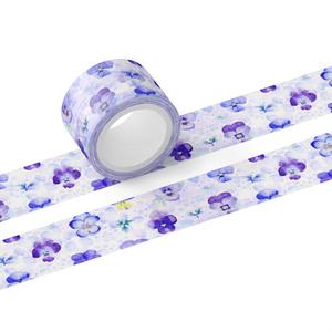 パンジーのマスキングテープ(テープ幅 25mm)