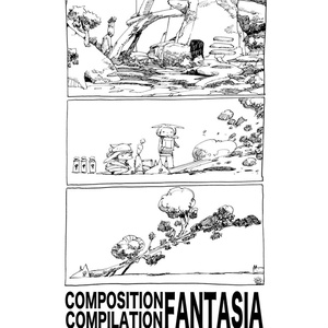 【構図集】COMPOSITION COMPILATION FANTASIA【コミティア123】