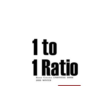 1 TO 1 RATIO