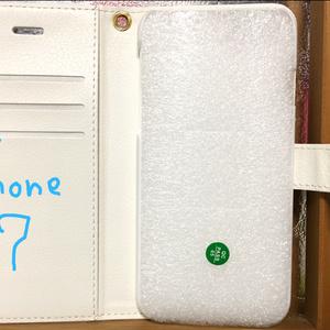 手帳型スマホカバー BIRDMIXモノクロ/カラー iPhone7(8兼用)