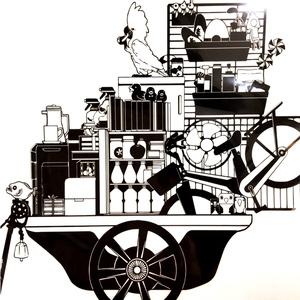 モノクロファイル 一輪車