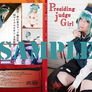 Presiding judge Girl