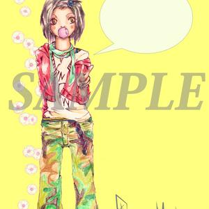 ポストカードNo.11~No.15