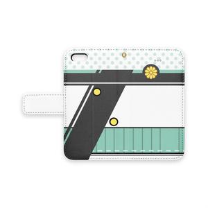 [iPhone用]秋津洲モチーフ手帳型スマホケース