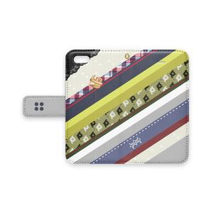 [iPhone用]アキラ水母モチーフ手帳型スマホケース