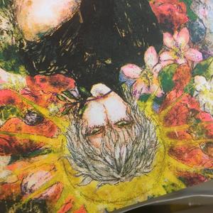 ギリシア神話: Eros(エロース)【蛍光色入孔版印刷ポストカード】