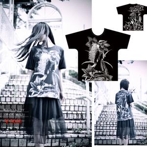 黒百合フルグラTシャツ