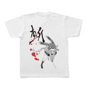 秋山理華 「斬」Tシャツ