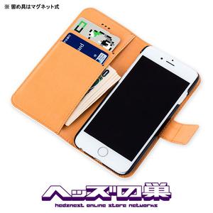 快楽ニードル 手帳型iPhoneケース PK