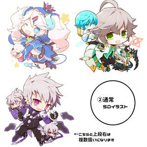【Commission】SDイラスト作成