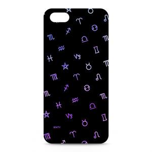 Astrological symbol #Black×Purple - iphone5ケース