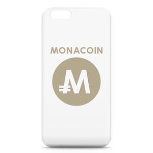 iPhone6ケース モナコイン 文字有 メダル色