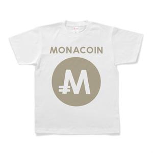 Tシャツ モナコイン 文字有 メダル色