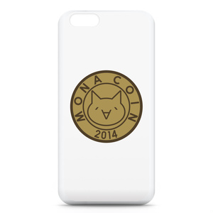 iPhone6ケース リアルモナコイン表柄 文字無 メダル色