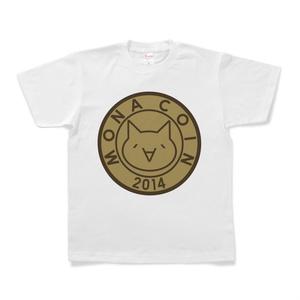 Tシャツ リアルモナコイン表柄 文字無 メダル色