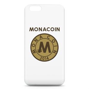 iPhone6ケース リアルモナコイン裏柄 文字有 メダル色