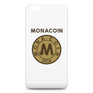 iPhone6 Plusケース リアルモナコイン裏柄 文字有 メダル色