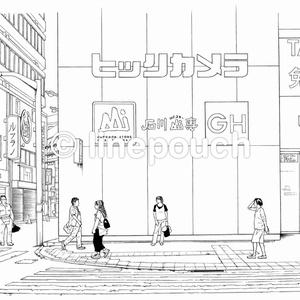 【まとめ割】都会の繁華街セット1
