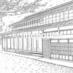 【無料DL可】日本家屋の外観1