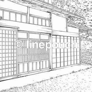 日本家屋の外観2