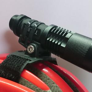CATEYE(キャットアイ)ヘルメットブラケット用汎用ライトアタッチメント