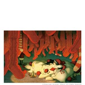 ポストカード「よくばり聖夜」